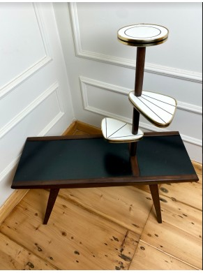 Elegancki stolik - kwietnik...