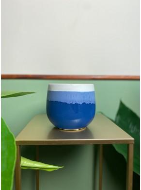 Biało-niebieska osłonka