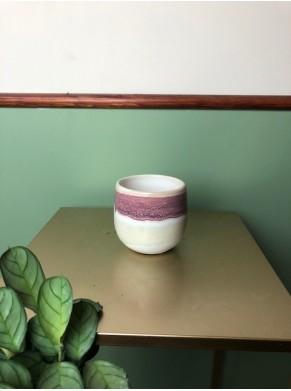 Biało-różowa osłonka